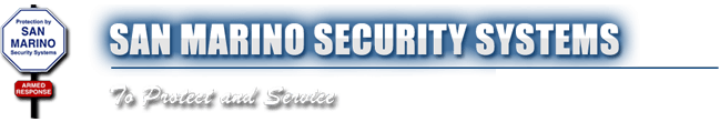 San Marino Security Systems - Logo